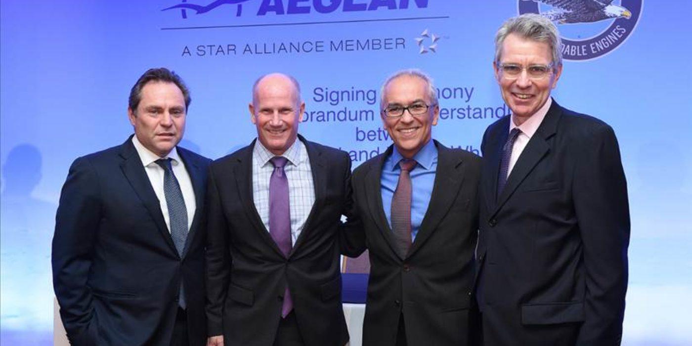 Aegean: Υπογραφή προσύμφωνου με την Pratt & Whitney για τον εξοπλισμό των νέων αεροσκαφών Airbus