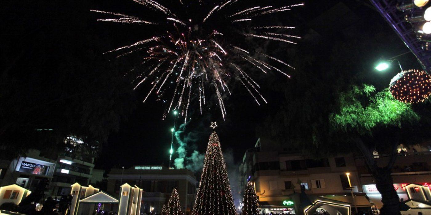 Έτοιμο το Χριστουγεννιάτικο Δέντρο στο Ηράκλειο (βιντεο)