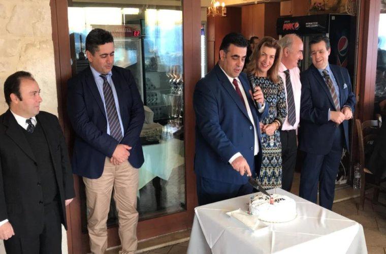 Κοπή πίτας για τον Παγκρήτιο Σύλλογο Διευθυντών Ξενοδοχείων