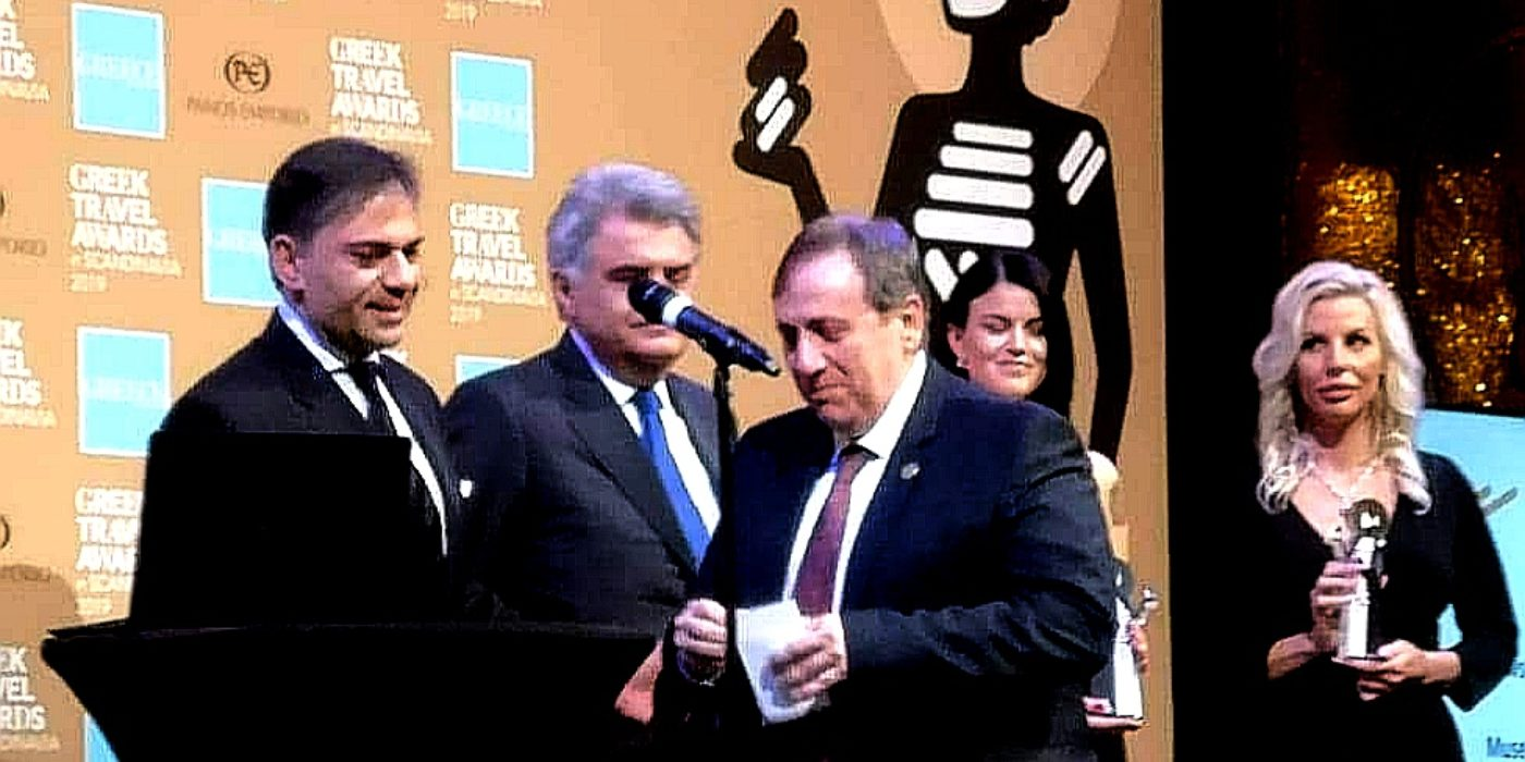 Πρώτη η Κρήτη στα Βραβεία τουρισμού στην Σκανδιναβία (φώτος)
