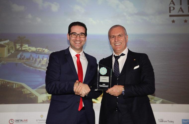 Τρία βραβεία για το CHC Athina Palace Resort & Spa 5* στα Greek Hospitality Awards 2019