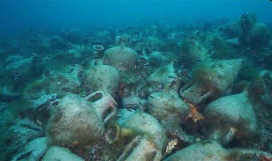 Αλόννησος: Tο ναυάγιο της Περιστέρας το πρώτο αρχαίο ναυάγιο που θα «ανοίξει» για το κοινό στην Ελλάδα
