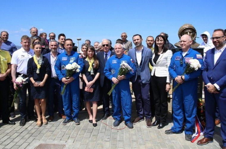 Παρουσία Ρώσων κοσμοναυτών εγκαινιάστηκε το Πάρκο «Γιούρι Γκαγκάριν» στο Ηράκλειο