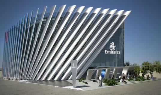 Το μέλλον της αεροπορίας στο περίπτερο της Emirates στην Expo 2020 του Ντουμπάι