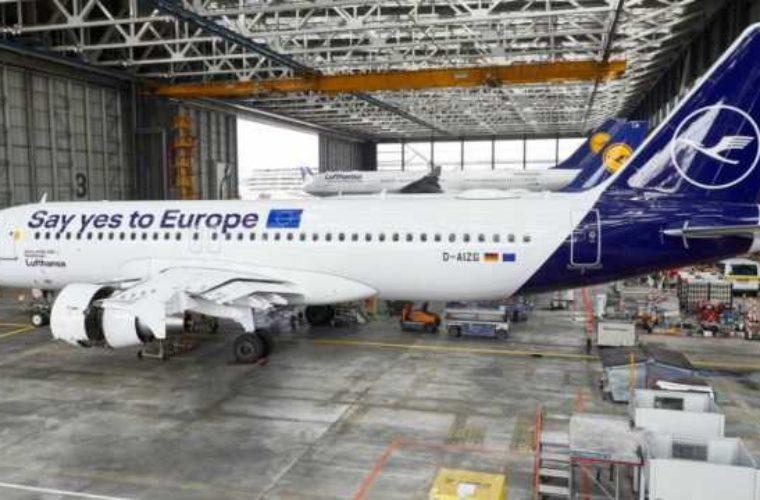 Η Lufthansa στηρίζει τις Ευρωεκλογές