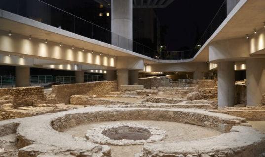 Επισκέψιμα τα ευρήματα κάτω από το μουσείο της Ακρόπολης