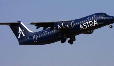 Astra Airlines: Νέες πτήσεις από Θεσσαλονίκη προς Αθήνα και Ζάκυνθο
