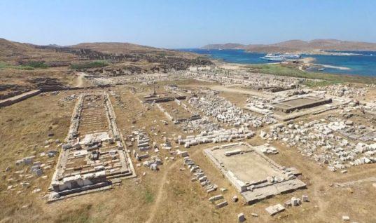 Δήλος: Ξεκινούν έργα αναστήλωσης και ανάδειξης του ιερού νησιού