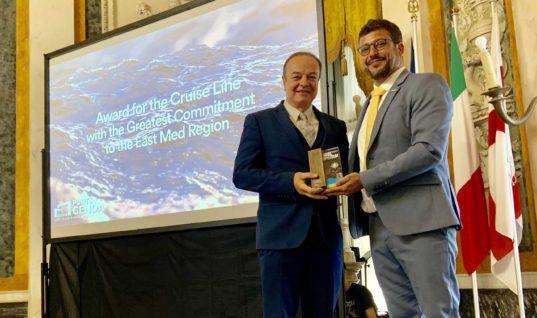 Σημαντική διάκριση για τη Celestyal Cruises στα Mare NostrumAwards 2019