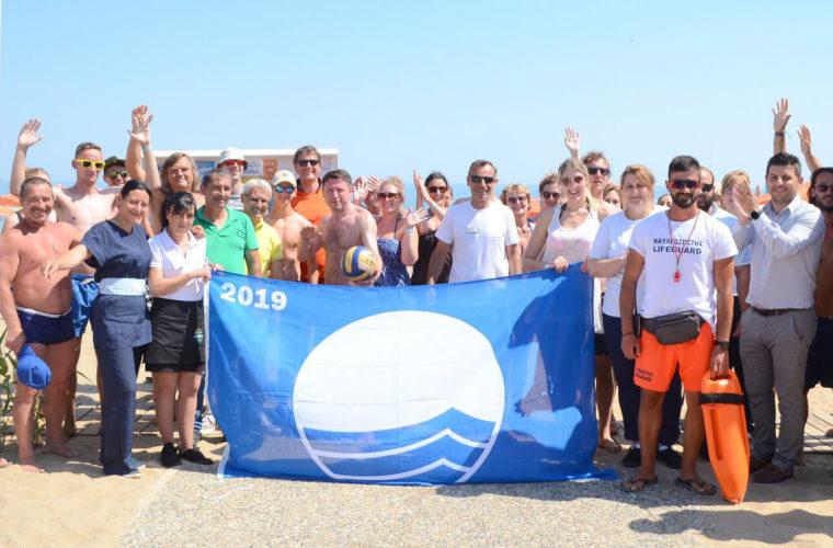Βράβευση της ακτής του Eliros Mare με «Γαλάζια Σημαία»