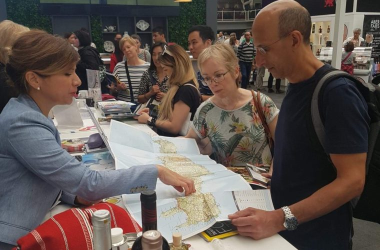 H Κρητική Κουζίνα κατενθουσίασε τους επισκέπτες του 1ου National Geographic Food Festival στο Λονδίνο όπου συμμετείχε η Περιφέρεια Κρήτης