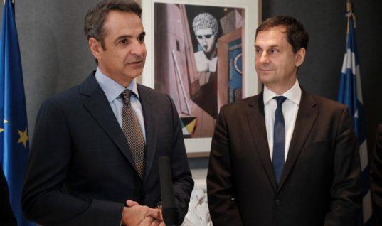 Επίσκεψη Πρωθυπουργού, κ. Μητσοτάκη στο Υπουργείο Τουρισμού