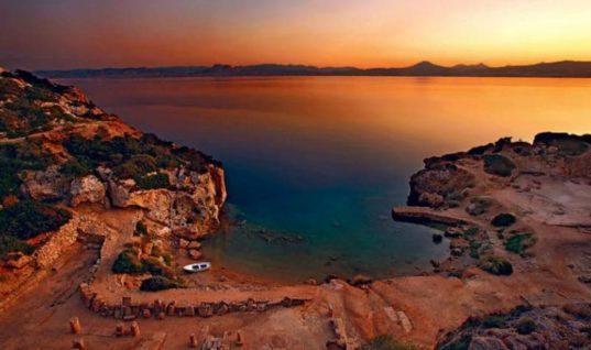 Ηραίο: Η μυστική παραλία κάτω από τα ερείπια του ναού της Ήρας που απέχει μόλις μία ώρα από την Αθήνα!