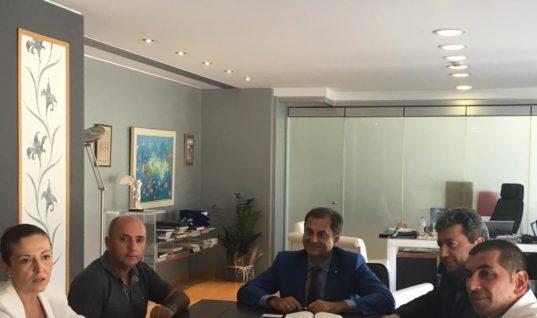 Συνάντηση υπουργού Τουρισμού κ. Χάρη Θεοχάρη με φορείς Σαμοθράκης