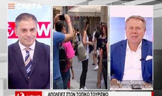 Μ. Βλατάκης : Τα δύσκολα για τον τουρισμό είναι μπροστά αν… ( Video )