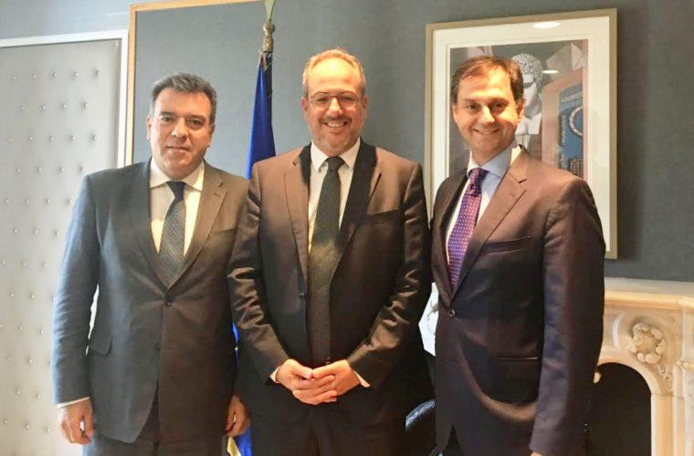 Συνάντηση  Υπουργού Τουρισμού με Fraport Greece
