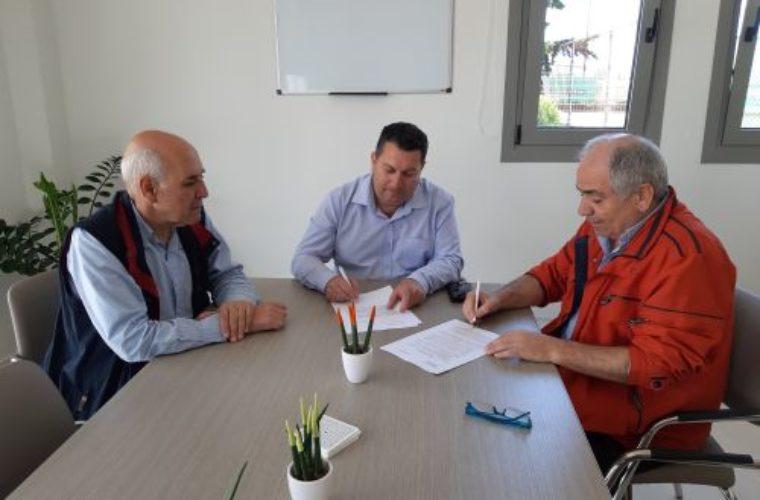 Υπογραφή σύμβασης συγχρηματοδότησης του προγράμματος δράσης του Οργανισμού Πολιτισμού και Ανάπτυξης Ποταμιών «Η Γκουβερνιώτισσα»
