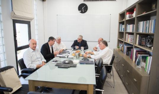 Συνάντηση Ένωσης Ξενοδοχείων Ηρακλείου με ΙΤΕ