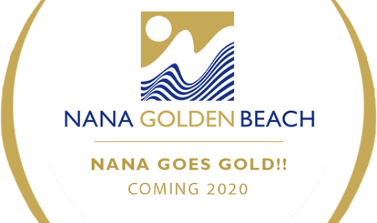 Nana Golden Beach: Ανοίγει το καλοκαίρι του 2020 ριζικά ανακαινισμένο το Nana Beach