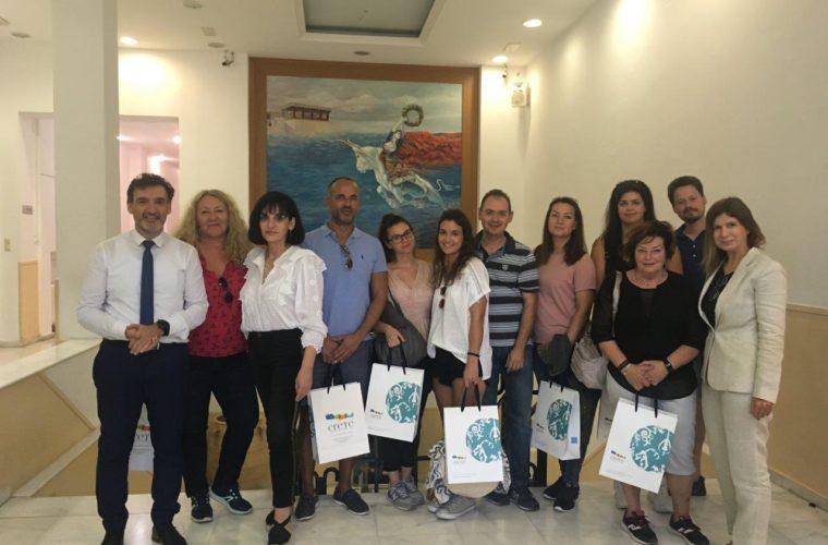 Φιλοξενία δημοφιλούς ουκρανικής τηλεοπτικής εκπομπής, δημοσιογράφων και bloggerτον Οκτώβριο από την Περιφέρεια Κρήτης για την προβολή του νησιού