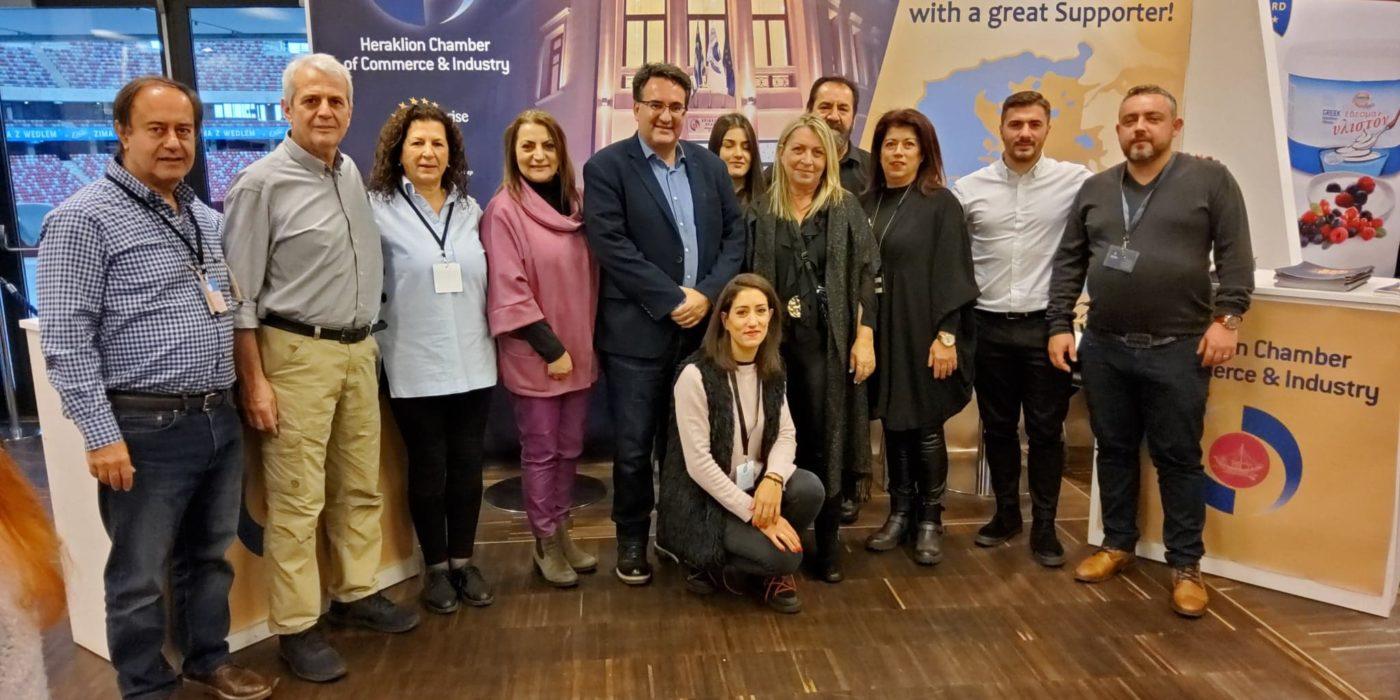Το Επιμελητήριο Ηρακλείου στην έκθεση GRECKA PANORAMA της Πολωνίας με  επιχειρήσεις – μέλη του