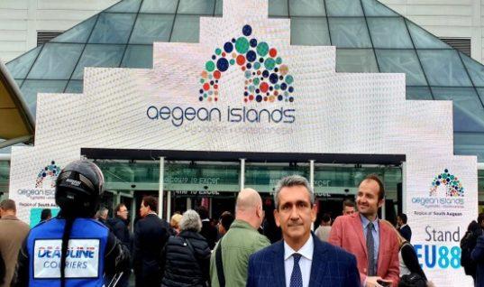 Ελληνικός τουρισμός 2019: Πρωταθλητής ξανά το Νότιο Αιγαίο με νέο ρεκόρ