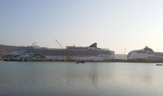Πάνω από 150 κρουαζιερόπλοια το 2020 στο λιμάνι της Σούδας