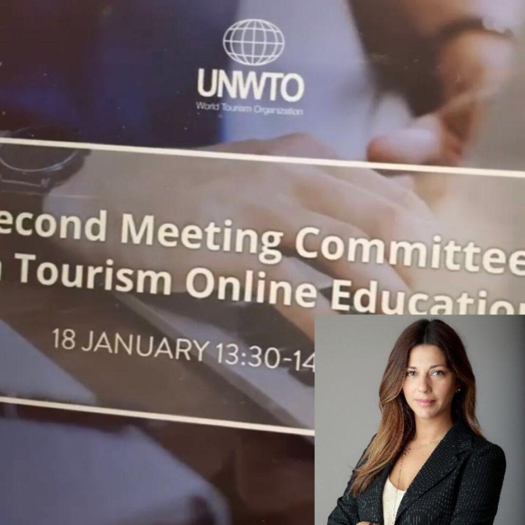 Η Σοφία Ζαχαράκη κατέθεσε πρόταση για τη διεξαγωγή του πρώτου συνεδρίου της Επιτροπής για τη Διαδικτυακή Τουριστική Εκπαίδευση του Παγκόσμιου Οργανισμού Τουρισμού στην Ελλάδα